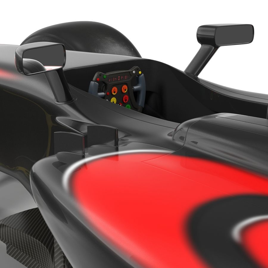 Voiture de Formule 1 royalty-free 3d model - Preview no. 41