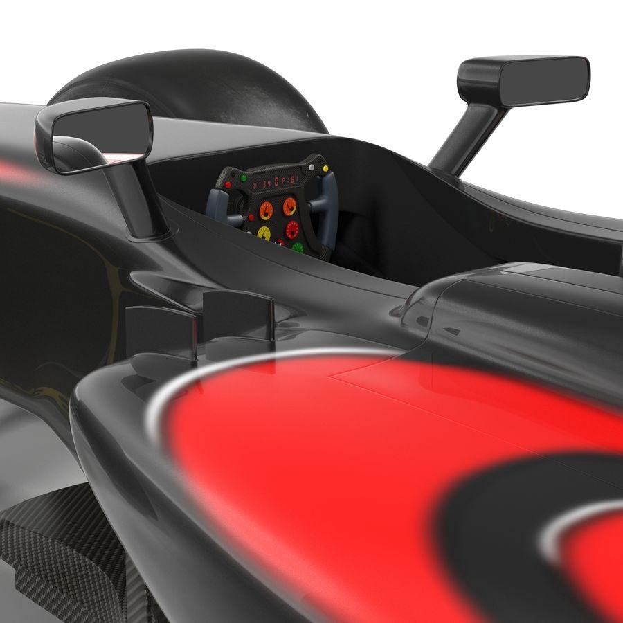 Formule 1 auto royalty-free 3d model - Preview no. 41