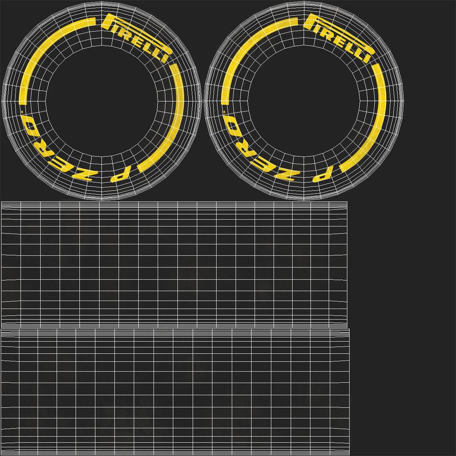 Formule 1 auto royalty-free 3d model - Preview no. 65