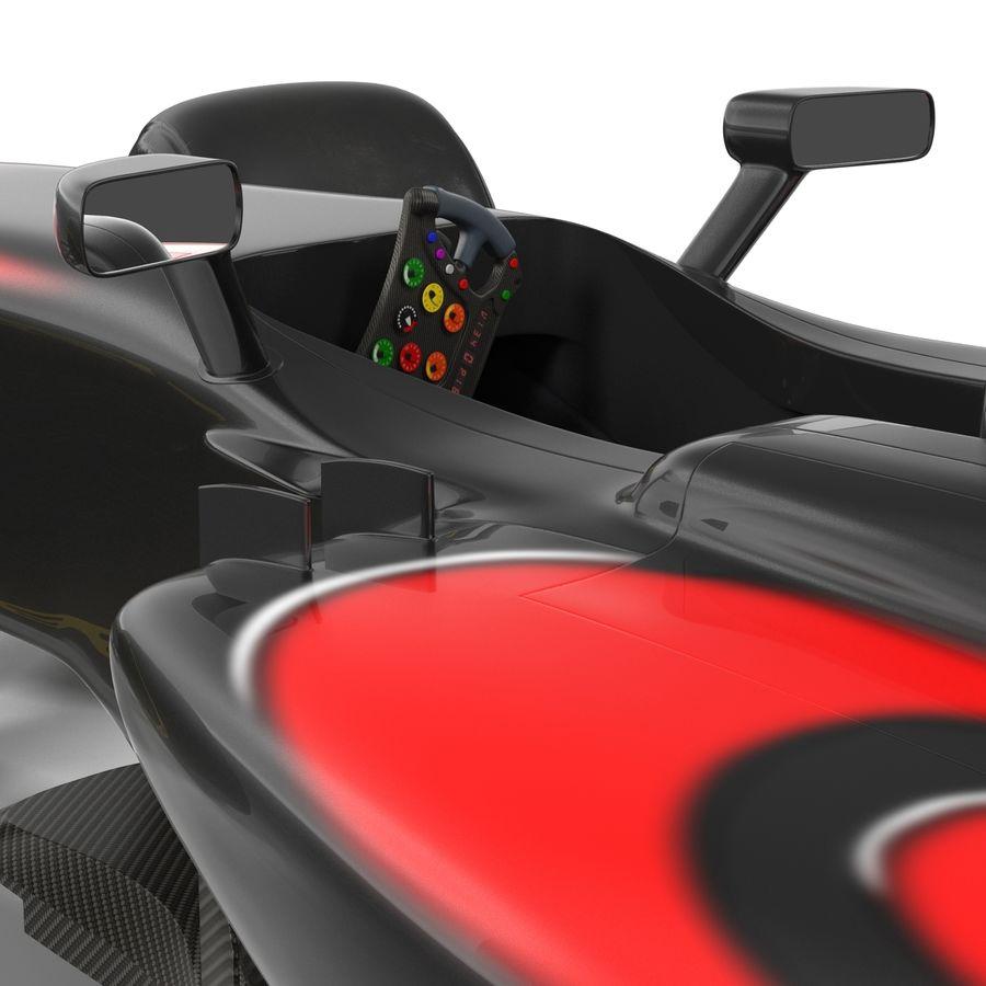 Formule 1 auto royalty-free 3d model - Preview no. 42