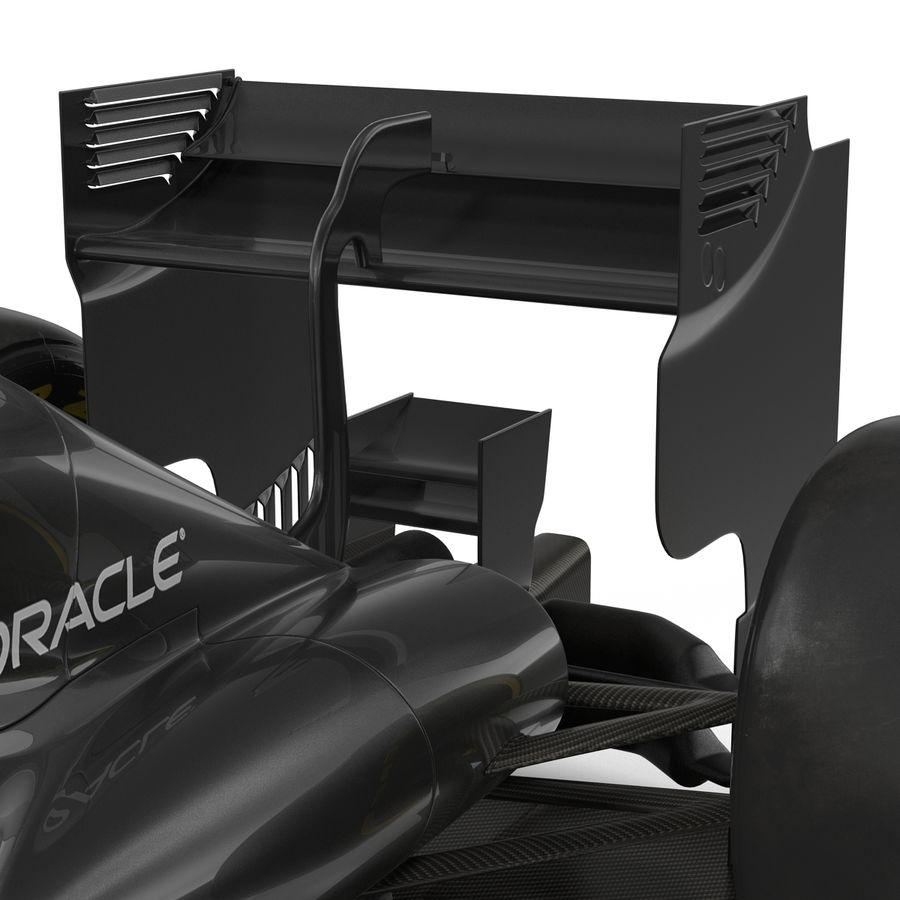 Formule 1 auto royalty-free 3d model - Preview no. 47