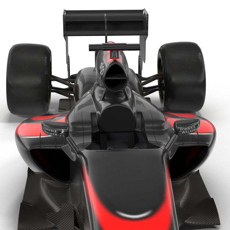 Formule 1 auto royalty-free 3d model - Preview no. 31