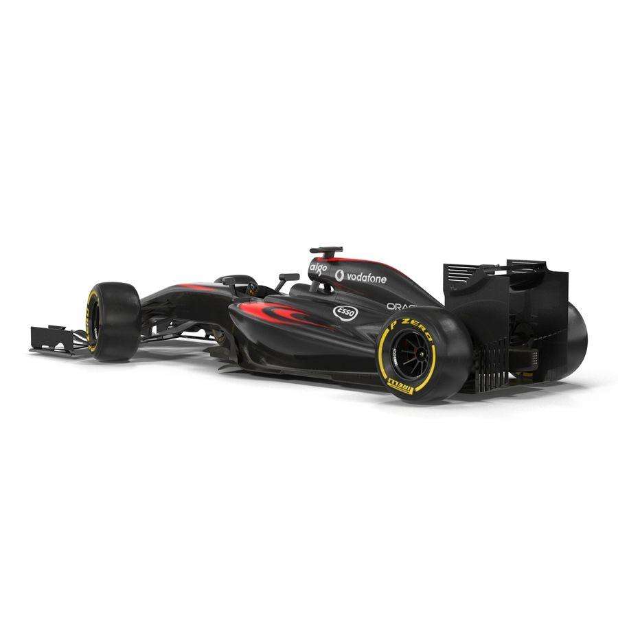 Formule 1 auto royalty-free 3d model - Preview no. 20