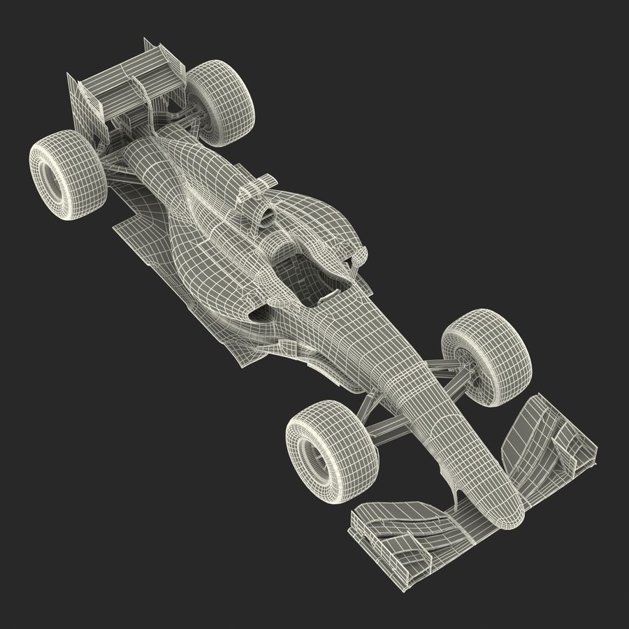 Voiture de Formule 1 royalty-free 3d model - Preview no. 75
