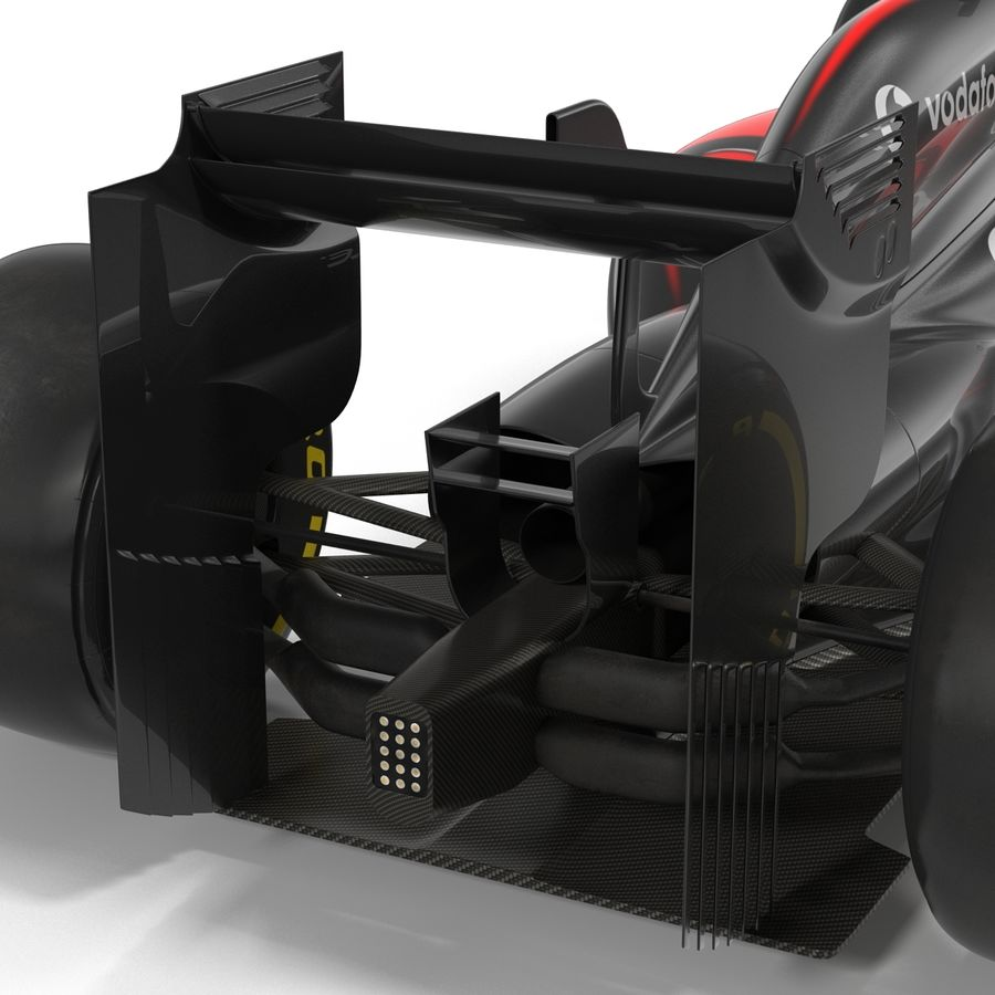 Voiture de Formule 1 royalty-free 3d model - Preview no. 44