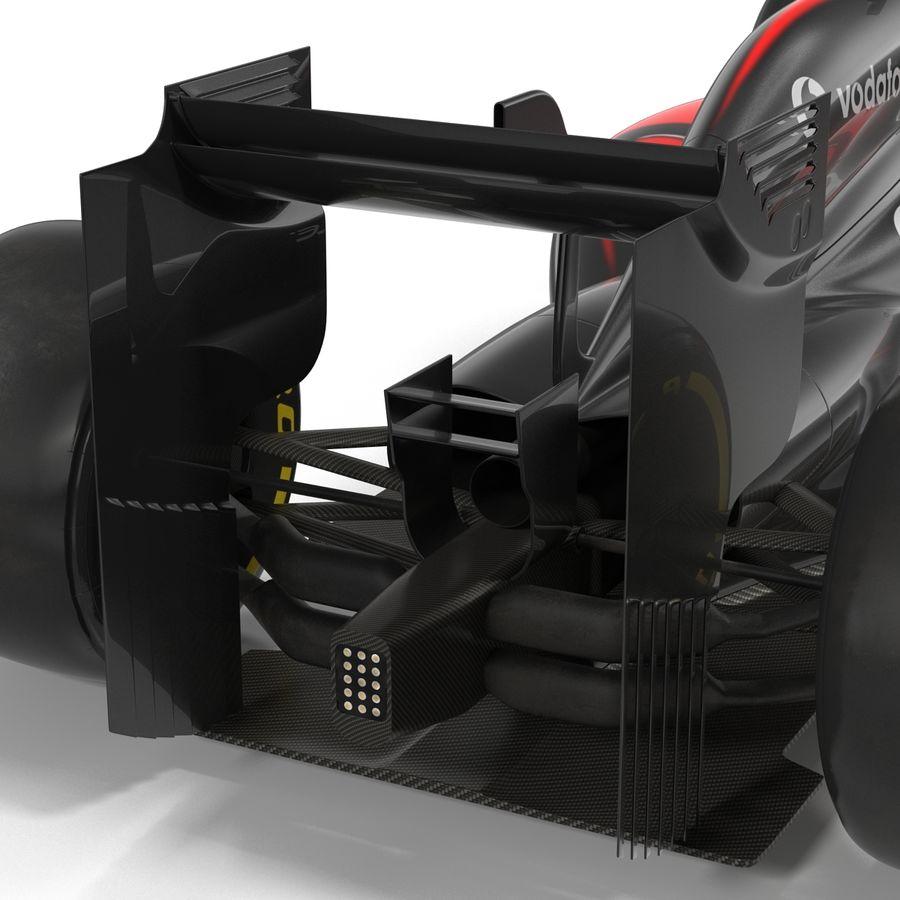 Formule 1 auto royalty-free 3d model - Preview no. 44