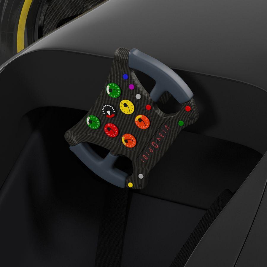 Formule 1 auto royalty-free 3d model - Preview no. 55