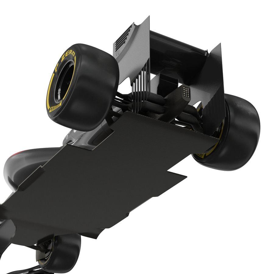 Formule 1 auto royalty-free 3d model - Preview no. 57