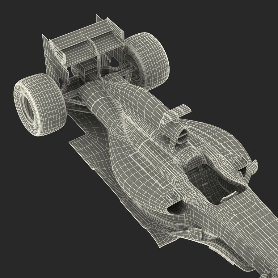 Voiture de Formule 1 royalty-free 3d model - Preview no. 81