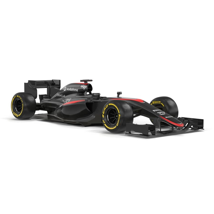 Voiture de Formule 1 royalty-free 3d model - Preview no. 17