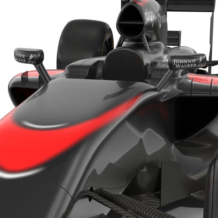 Formule 1 auto royalty-free 3d model - Preview no. 40