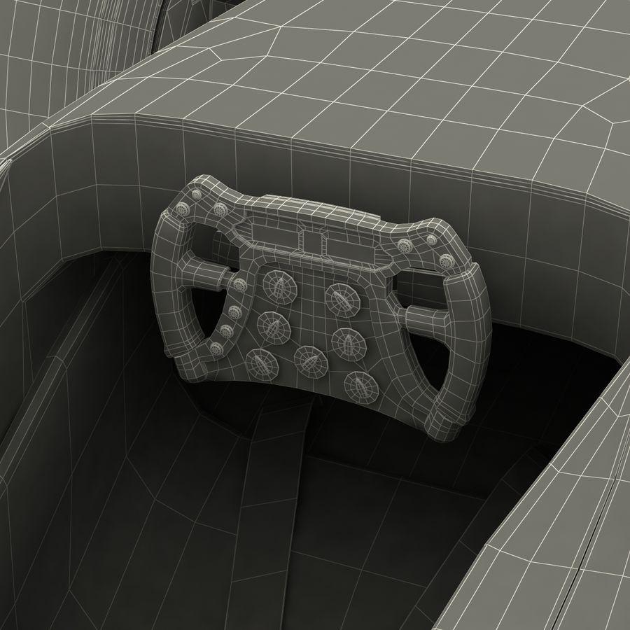Formule 1 auto royalty-free 3d model - Preview no. 96