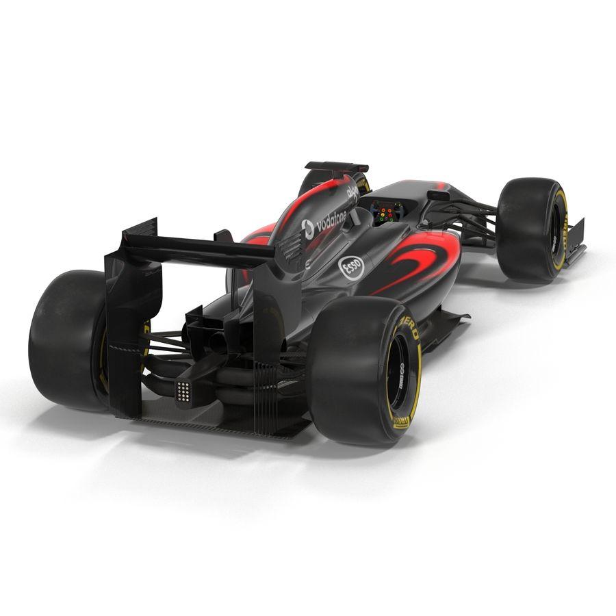 Formule 1 auto royalty-free 3d model - Preview no. 14