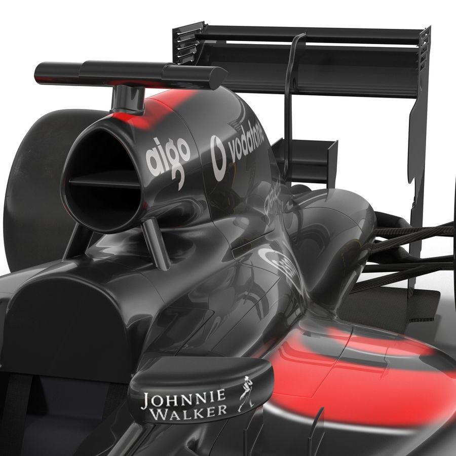 Formule 1 auto royalty-free 3d model - Preview no. 46
