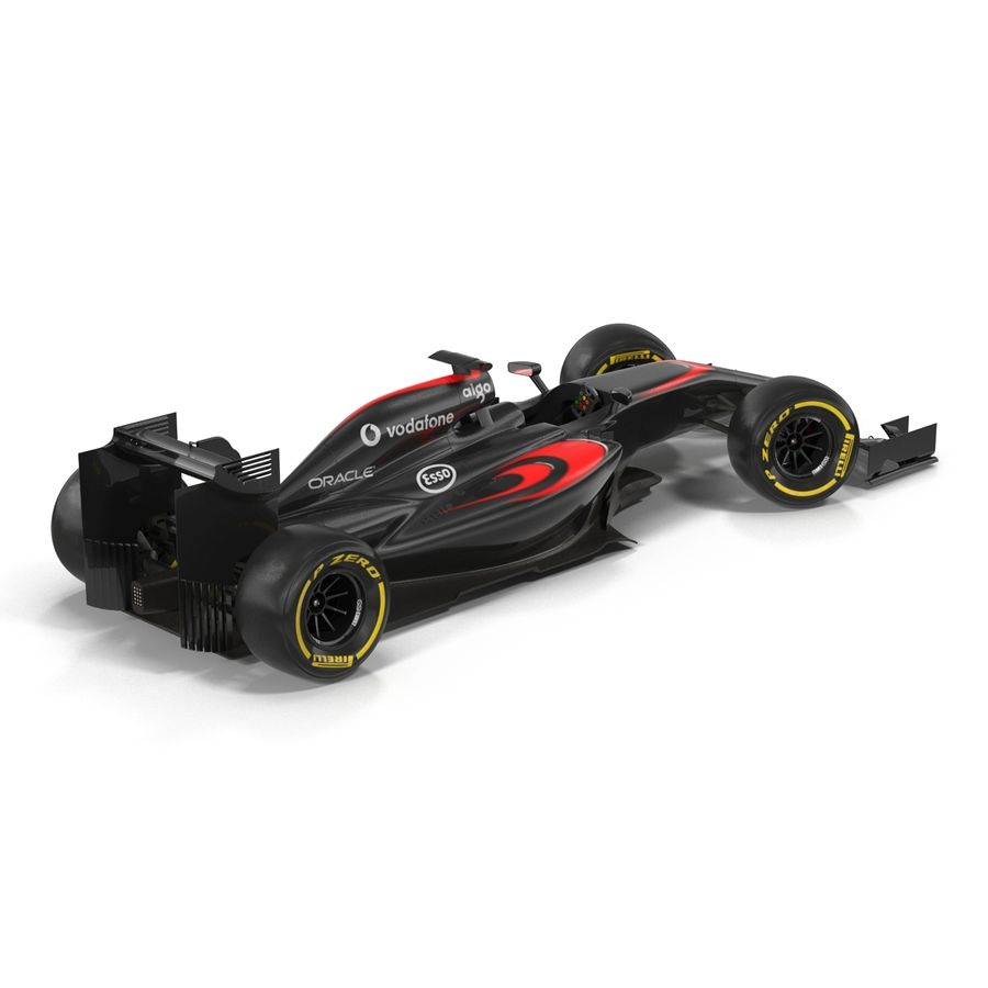 Voiture de Formule 1 royalty-free 3d model - Preview no. 10
