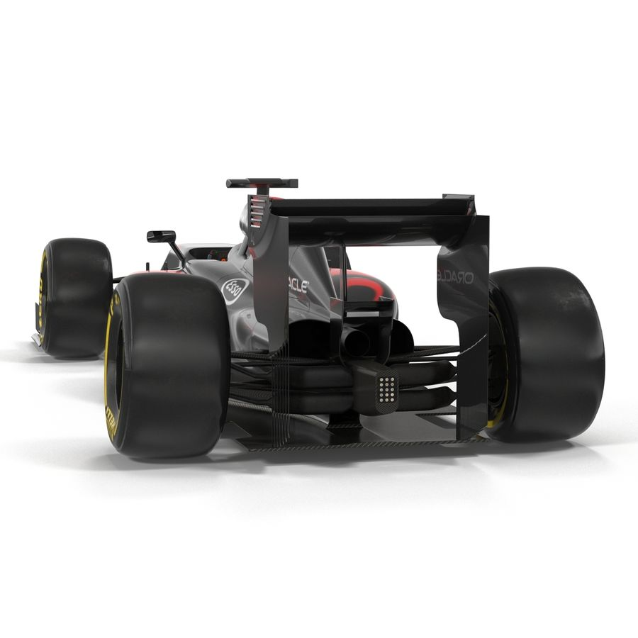 Voiture de Formule 1 royalty-free 3d model - Preview no. 16
