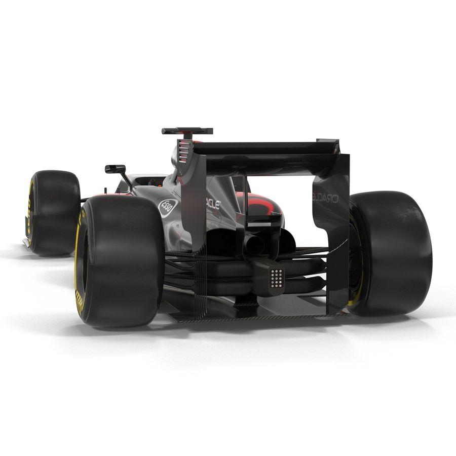 Formule 1 auto royalty-free 3d model - Preview no. 16