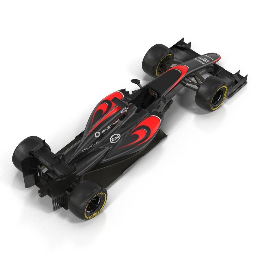 Formule 1 auto royalty-free 3d model - Preview no. 21