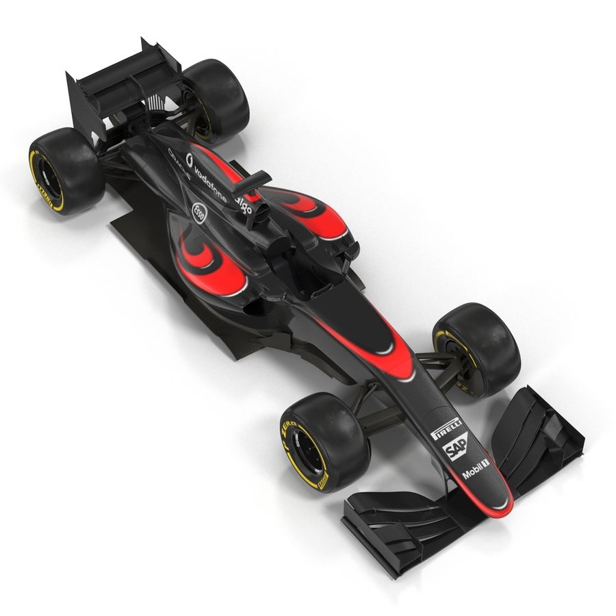 Voiture de Formule 1 royalty-free 3d model - Preview no. 22