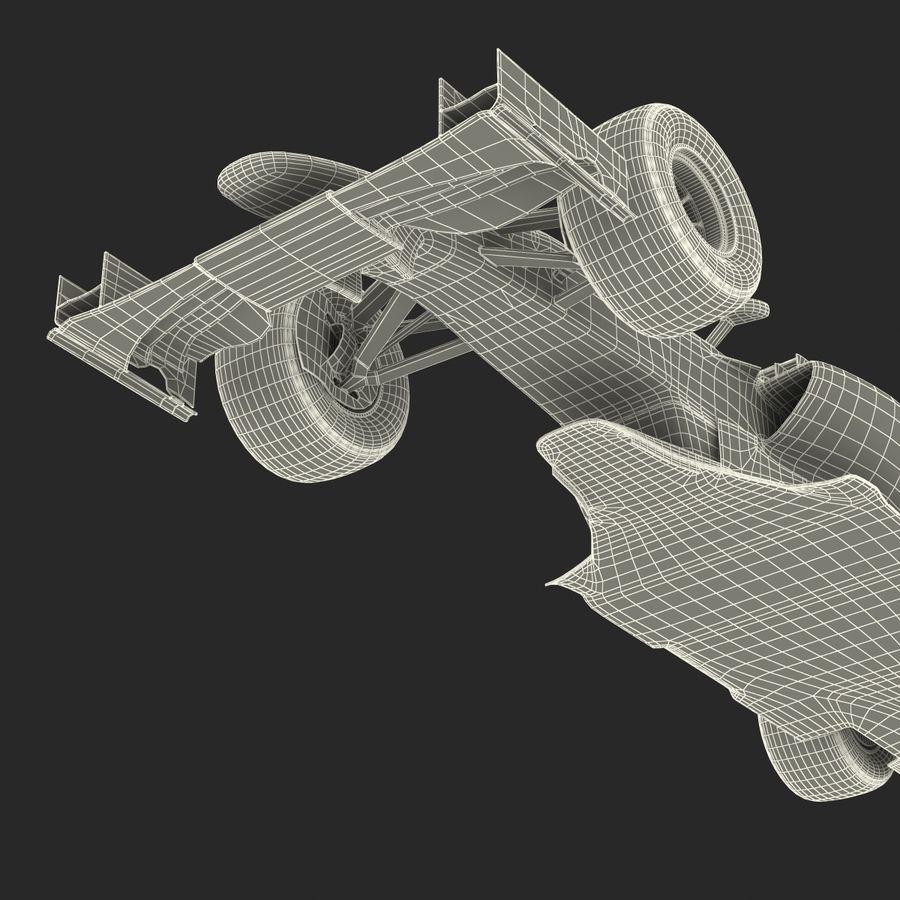 Formule 1 auto royalty-free 3d model - Preview no. 80