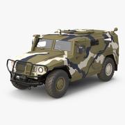 Infantry Mobility Vehicle GAZ Tigr M 3d model