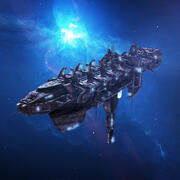 SciFi Battle Ship 3d model