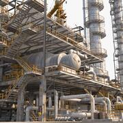 Raffinerie 3d model