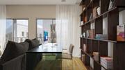 Wnętrze mieszkania 01 3d model