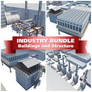 Sanayi Yapı Seti 3d model