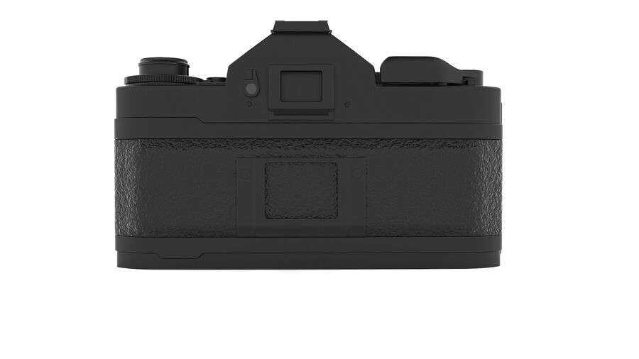 Fotocamera DSLR Canon A1 avanzata royalty-free 3d model - Preview no. 6
