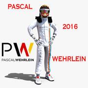 Pascal Wehrlein 2016年 3d model