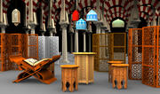 Islamic Collection 3d model