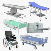 Tıbbi Ekipman Koleksiyonu 3d model