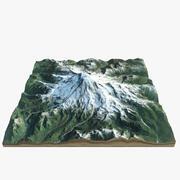 Mount Rainer 3d model