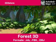 Floresta 3d model