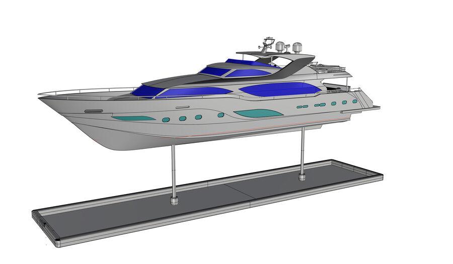 요트 royalty-free 3d model - Preview no. 16