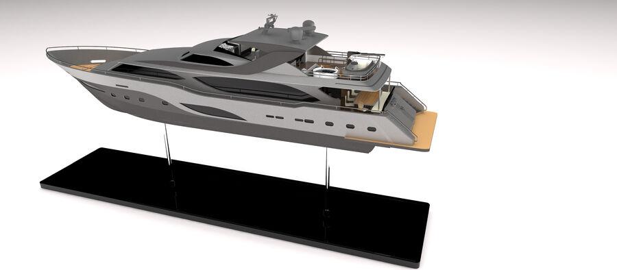 요트 royalty-free 3d model - Preview no. 15