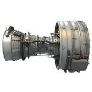 Турбореактивный авиационный двигатель CFM International CFM56 3d model
