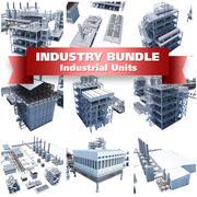 Industrie Chemische Verarbeitungseinheiten 3d model