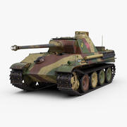 Panther Ausf G 3d model