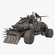Apokalyptisk lastbil 2 3d model