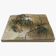 火山景观8 3d model