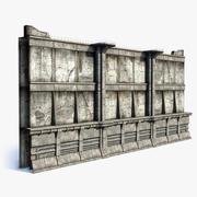 Stadsmur 3d model