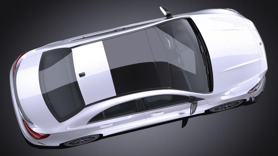 梅赛德斯 - 奔驰CLA45 AMG 2017 royalty-free 3d model - Preview no. 8