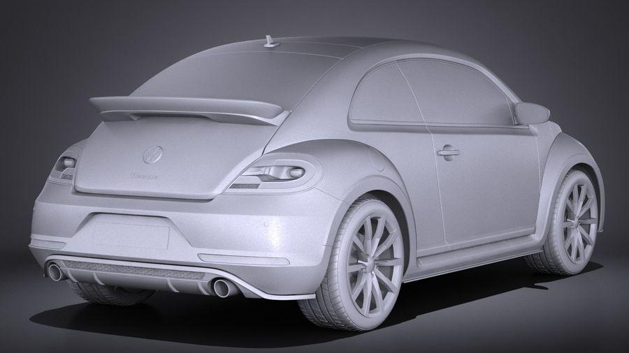 폭스 바겐 비틀 2017 royalty-free 3d model - Preview no. 14
