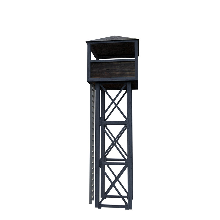 Watch Tower royalty-free 3d model - Preview no. 5