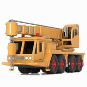 Toon Mobile Crane 3d model