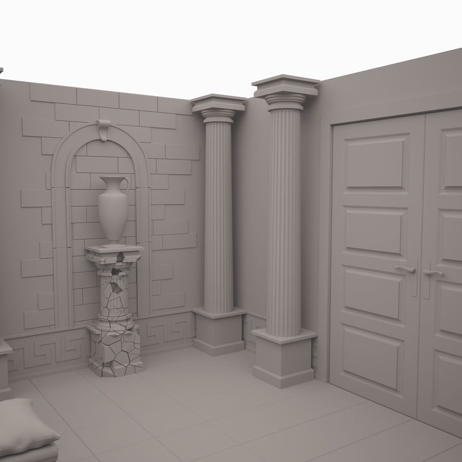 Room royalty-free 3d model - Preview no. 8
