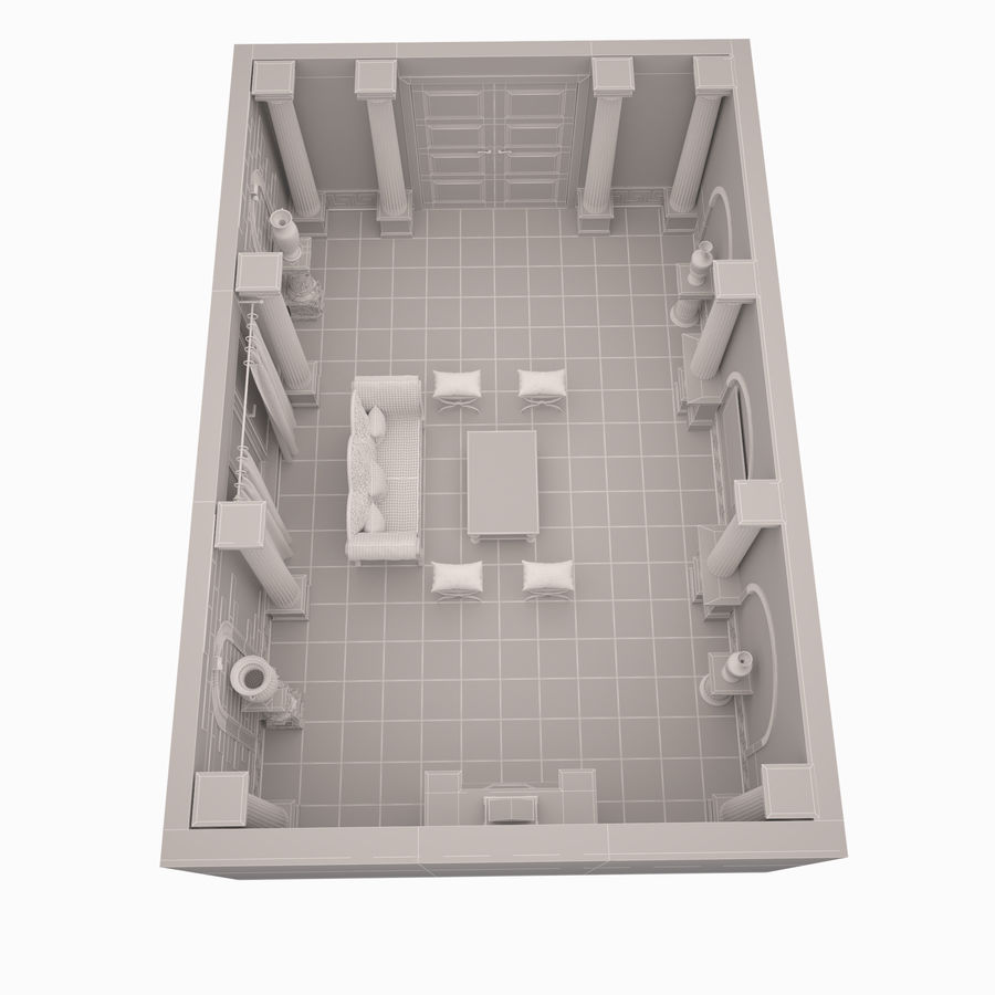 Room royalty-free 3d model - Preview no. 9