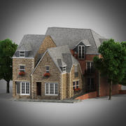 English house 3d model